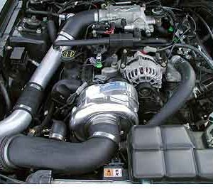 1996-1998 Mustang GT Supercharger System H.O. Intercooled System with P-1SC