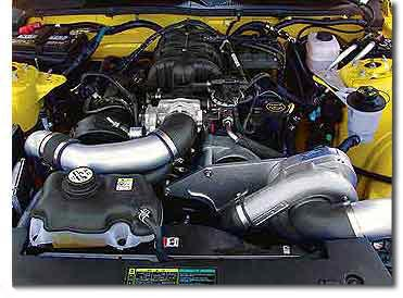 2005-2010 MUSTANG V6 4.0L PROCHARGER SUPERCHARGER HO Inter-cooled System P-1SC-1