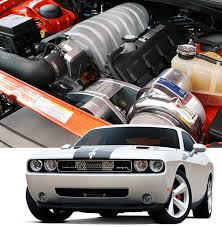 2011-2014 Dodge Challenger SRT8 Supercharger System ( H.O. Intercooled System with P-1SC-1 STAGE II )