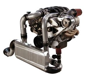 Mustang GT Procharger 4.6L 3V F-1A Serpentine Race Kit Intercooled System 05-10