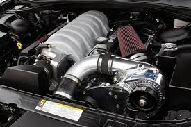 2006-2010 Dodge HEMI Supercharger System H.O. Intercooled System with P-1SC-1 ( Magnum 300C SRT8 6.1L )