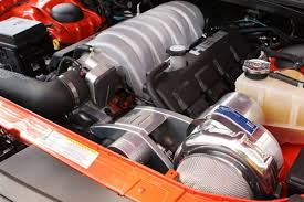 2006-2010 Dodge HEMI Supercharger System H.O. Intercooled System with P-1SC-1 STAGE II TUNER KIT (Charger R T & SRT8 6.1L)