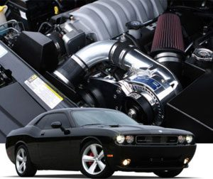 2008-2010 Dodge Challenger SRT8 Supercharger System H.O. Intercooled System with P-1SC-1 TUNER KIT